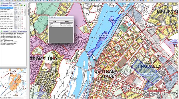 gis karta Kartor och geografisk information, GIS   Trollhättans stad gis karta